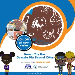 Brown Box Special- 20% off with GA PTA code